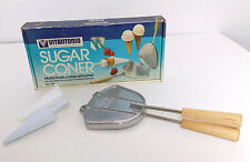 VTG VITANTONIO Sugar Coner 530 Waffle Cone Maker Stovetop Pizzelle Iron w. Box