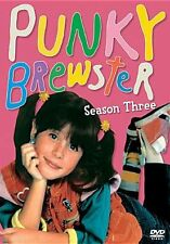 PUNKY BREWSTER: SEASON THREE (Cherie Johnson) - DVD - Region 1 Sealed