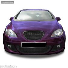 SEAT Leon 1P Altea 5P 04-09 BLACK SPORT BADGELESS FRONT GRILL GRILLE DEBADGED RS