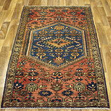 ANTIQUE TRADITIONAL PERSIAN Wool  3 X 5.8 HANDMADE RUGS ORIENTAL RUG CARPET