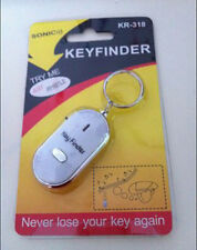 Whistle Lost Car Key Finder  Keyrings Locater with LED Light FG UK