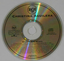 Christina Aguilera - What A Girl Wants 2 Edits/Remix/Acappella - Promo CD Single