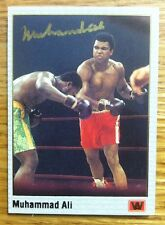 Muhammad Ali AUTOGRAPH  2001 All World Promo Auto