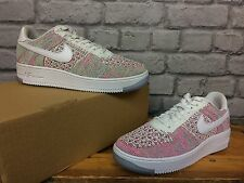 NIKE LADIES UK 6 EU 40 AIR FORCE 1 FLYKNIT W TRAINERS RRP £120 MULTI COLOURED