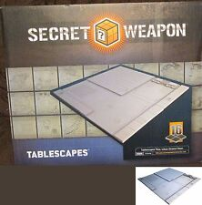 Secret Weapon TS1602 Tablescapes Tiles Urban Streets Clean (16 Tile Set) Terrain