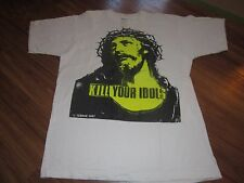 KILL YOUR IDOLS RARE VINTAGE TEE 1987 GUNS N ROSES LARGE ORIGINAL