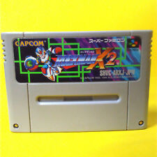 S13 ROCKMAN  X2 JAPAN SNES SFC Nintendo Super Famicom Japanese Free Shipping