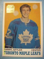 2001-02 Topps/OPC Archives Reprint # 39 of 1970-71 OPC # 218 Darryl Sittler RC!