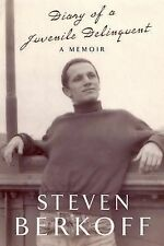 Diary of a Juvenile Delinquent by Steven Berkoff (Hardback, 2010) New Book