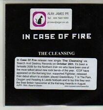 (AQ799) In Case Of Fire, The Cleansing - DJ CD