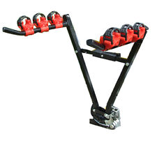 Car & 4x4 Secure Tow Ball Fitment 45kg 3 Bike Bicycle Travel Rack Carrier - #C5