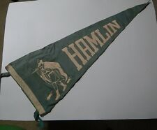 "11"" x 29"" Hamlin Pied Pipers High School Felt Wall Pennant"