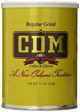 CDM Coffee and Chicory, Regular Grind, 13-Ounce Cans (Pack of 4) , New, Free Shi
