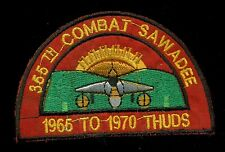 USAF 355th Tactical Fighter Wing Vietnam Theater Made Patch E-1