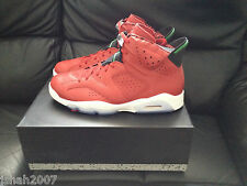 Nike Air Jordan 6 Retro Spizike Mens Shoes Trainers Red UK9.5 Brand New **LOOK**