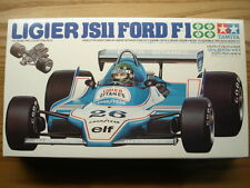 Tamiya 1:20 Scale Ligier JS11 Ford Formula 1 Model Kit New - Jacques Laffitte