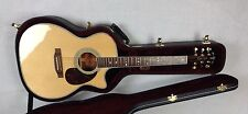Crafter TC-035 Acoustic Electric Guitar w/TKL Fur Lined Case - FAST SHIPPING!
