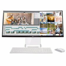 "LG 29V950 29"" Curved All-in-One PC i7 Broadwell 8GB RAM 1TB HDD Windows 10 White"