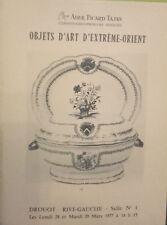 1979 Catalogue de Vente DROUOT RIVE GAUCHE BIJOUX ANCIENS OBJETS VITRINES