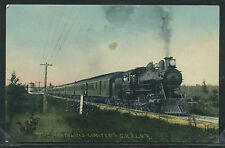 MI Weston H/C ROTOGRAVURE 1908 GR&I RR THE NORTHLAND LIMITED Locomotive Train
