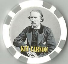 KIT CARSON  WILD WEST  COLLECTOR CHIP