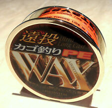 "150m x 15lb Linesystem Japanese ""PE WAX"" Braid - Japanese Quality"