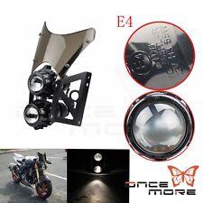H3 Twin Headlight & Smoke Windscreen Motorbike For Sachs MADASS 50 125 KLX
