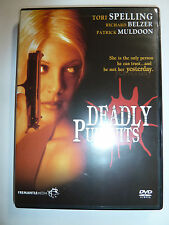 Deadly Pursuits DVD 90s TV movie mystery crime thriller 1995 Tori Spelling