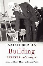 Building: Letters 1960-1975, Berlin, Isaiah, New Books
