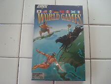 World Games for Commodore 64/128, NEW FACTORY SEALED, EPYX