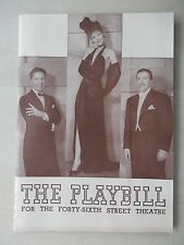 May 1944 - Forty-Sixth Street Theatre Playbill - One Touch Of Venus - Martin