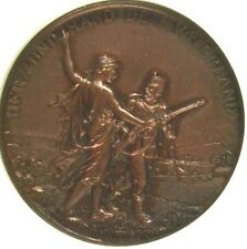 Swiss 1897 Bronze Shooting Medal Solothurn Olten R-1125b Helvetia 45mm NGC MS63
