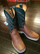 Mens Western Boots 9 EE SQC1829