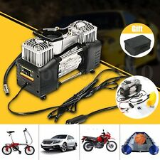 12V 150PSI Double Cylinder Air Pump Compressor Car Tyre Inflator Portable Kit