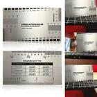 Guitar Bass String Action Ruler Gauge Guide Measuring Luthier Tool Wholesale E18