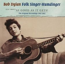 BOB DYLAN - JUST ABOUT AS GOOD AS IT GETS! 2 CD NEU