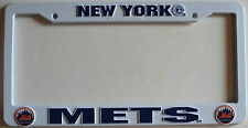 New York Mets MLB Baseball Sports Car Tag Automobile Plate License Plastic Frame