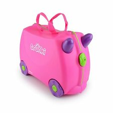 Trunki Ride-on Suitcase - Trixie (Pink) KIDS FUN TRAVEL SUITCASE BRAND NEW