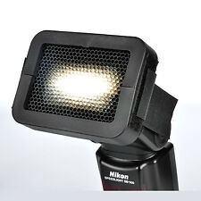 1/8'' Universal Honeycomb Speed Grid Diffuser For Portable Flash Speedlight New