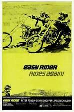 EASY RIDER Movie POSTER 27x40 E Peter Fonda Dennis Hopper Jack Nicholson Karen