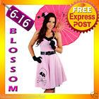 E67 Ladies 50s Vintage Rockabilly Pin Up Swing Halloween Fancy Dress Costume