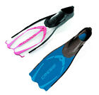 Cressi Pluma Full Foot Fins Flippers Snorkel Scuba Closed Heel Power Fin Dive