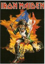 IRON MAIDEN carte postale postcard STAR 9 france