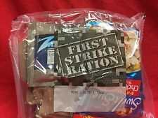 FIRST STRIKE RATION #2 MEAL READY TO EAT 24Hr PACK  Inspection Date 09/2018