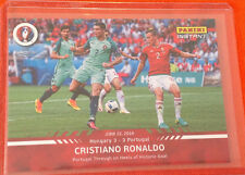 2016 Panini Instant CRISTIANO RONALDO Euro Cup RED #46 Portugal (Only 175 Made)