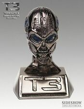 Terminator 3 - TX Head Endoskull - Chromed Polystone Mini Collectible Statue MIB