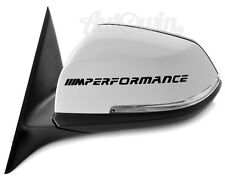 BMW 2 Series F22 F23 F45 /// M Performance Stickers 2x pcs. New Design Black
