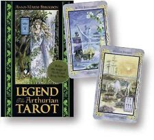Legend Tarot Deck: The Arthurian Tarot by Anna-Marie Ferguson Hardcover Book (En