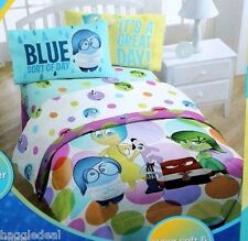 DISNEY PIXAR INSIDE OUT TWIN BED SHEET MICROFIBER 3 PIECE SET BEDSHEET