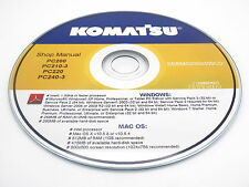 Komatsu WA320-3 Avance Custom Wheel Loader Shop Service Repair Manual